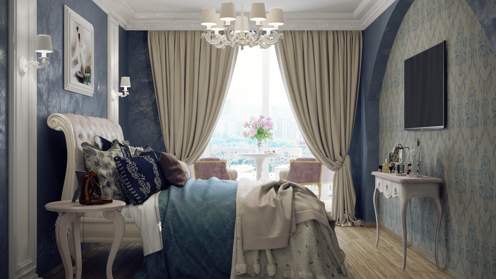 Какого цвета шторы подойдут к бирюзовым обоям